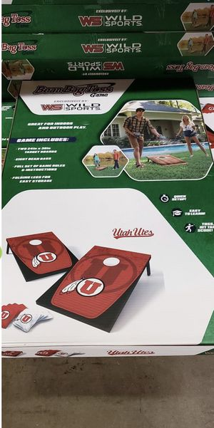 Bean Bag Toss Game Sets, Utah Utes for Sale in Monrovia, CA