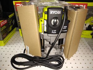 RYOBI 10 Amp 2 HP Plunge Base Router for Sale in Temple, GA