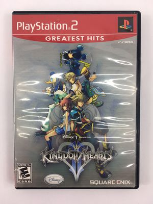 Kingdom Hearts II Greatest Hits Release (Sony PlayStation 2, 2007) Complete for Sale in Hamilton Township, NJ