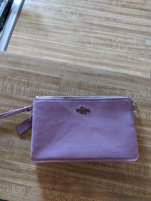 Purple Coach Wristlet Purse for Sale in San Diego, CA