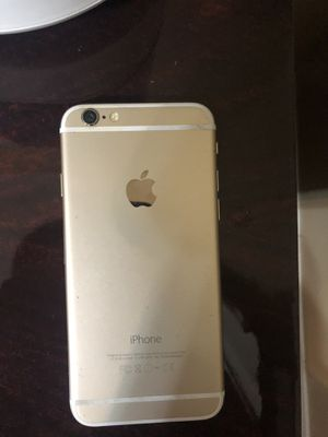 Unlocked iPhone 6 Gold for Sale in Troy, MI
