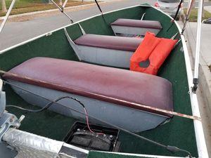 1999 Delta Boat and trailer. for Sale in San Joaquin, CA