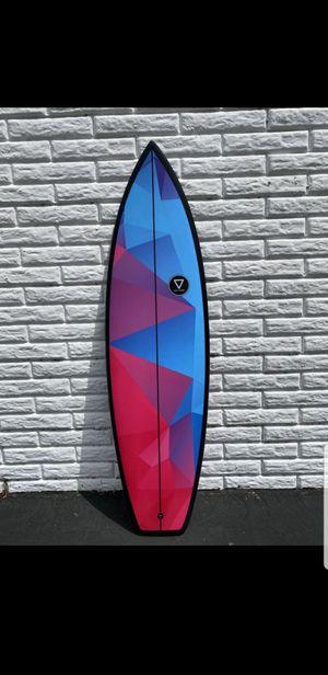 6' Surfboard 3+4 Finbox for Sale in Laguna Beach, CA