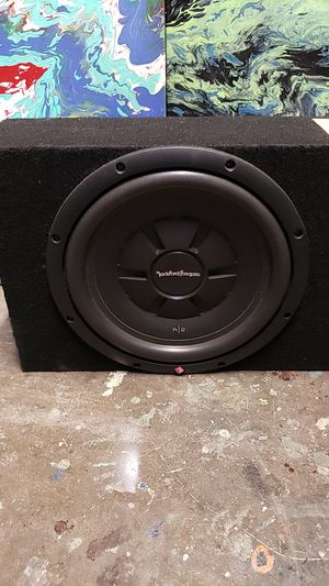12 shallow mount sub and box..FOSGATE for Sale in Lakeland, FL