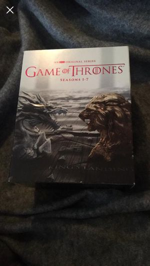 Game of Thrones All Seven seasons Box Set (BLU-RAY) for Sale in Beckley, WV