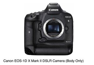 Canon 1D X Mark II DSLR Camera Body for Sale in San Diego, CA