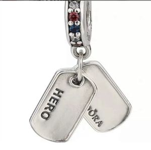 Pandora hero dog tags charm for Sale in Fresno, CA