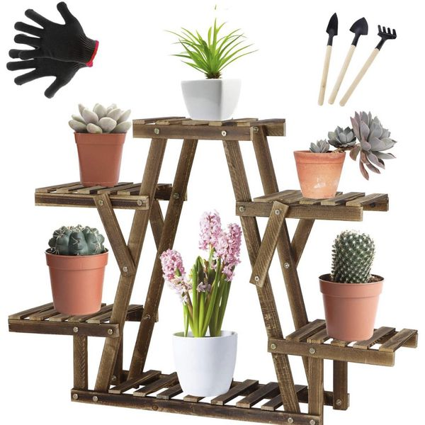 New Plant Rack With 3 Tools And Gloves