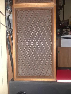 Totally vintage Pioneer speakers with lattice Grill for Sale in Denver, CO