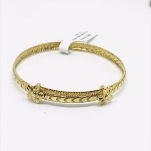 10Kt gold baby bracelets with flowers available on special sale for Sale in Indianapolis, IN