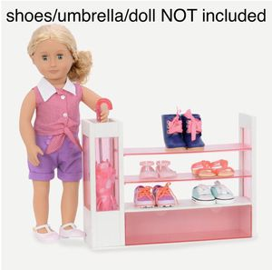 Our Generation/ American Girl Doll Shoe Rack for Sale in Cooper City, FL