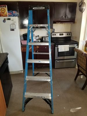 I am selling this 6 foot ladder in perfect condition with little use interested only. for Sale in Manassas, VA
