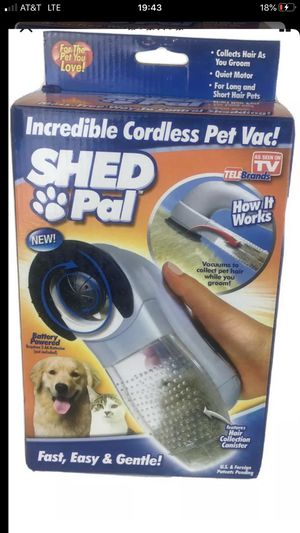 Shed Pal Cordless Pet Vac As Seen On TV For Cats & Dogs for Sale in San Leandro, CA