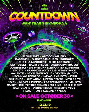 COUNTDOWN NYE WRISTBANDS (2) for Sale in Phillips Ranch, CA