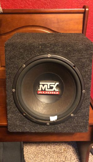 MTX speaker 10' in box works perfectly $30 obo for Sale in San Diego, CA