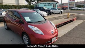 2015 Nissan Leaf S for Sale in Redondo Beach, CA
