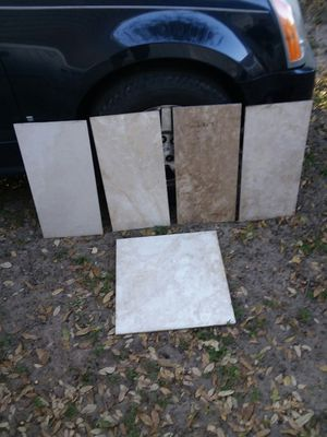 Have approximately 300 ft of assorted tile. for Sale in Tampa, FL