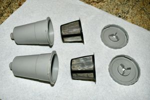 Keurig My K-Cup Reusable Coffee Filters, Qty 2 sets; Gray, 3 pcs each set for Sale in Scottsdale, AZ