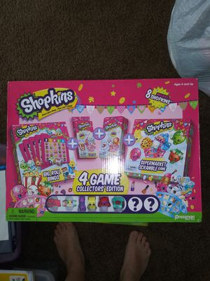 Shopkins 4 games set for Sale in Brandon, FL