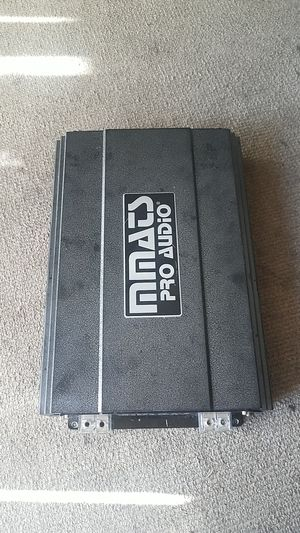 Amplifier MMATS PRO AUDIO HD4000.1 4000 WATTS RMS COMPETITION for Sale in Everett, WA