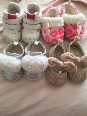 Baby girl clothes and shoes for Sale in Riverdale, MD