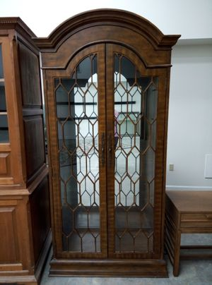 Lighted Glass Cabinet for Sale in Tampa, FL