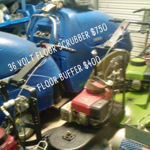 36 volt floor scrubber and floor buffer for Sale in Tacoma, WA