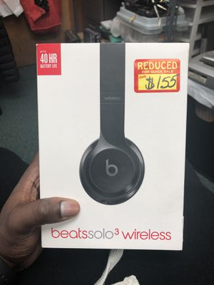 Headphones, Electronics BEATS IN BOX USED SOLO 3 WIRELESS for Sale in Baltimore, MD