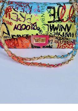 Graffiti Shoulder Bag - Medium for Sale in Chicago,  IL