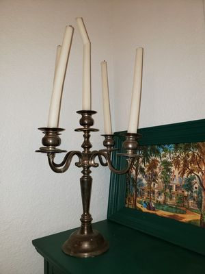 Antique silver plated candelabra for Sale in Killeen, TX