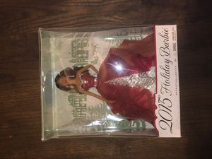 2015 Holiday Barbie for Sale in UPPR MARLBORO, MD