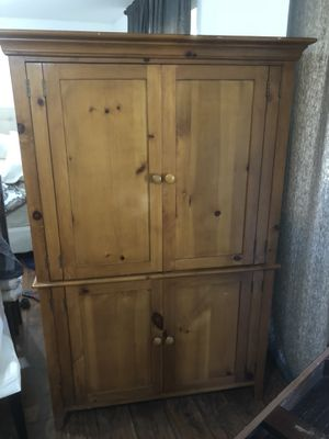 Stationary armoire for Sale in Daly City, CA
