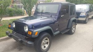 1999 Jeep Wrangler TJ 4cyl 4x4 Manual Clean for Sale in Chicago, IL