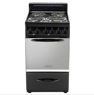 "Premium Electric Stove 20"" Black 4 burners Cocina Eléctrica Negra 4 quemadores Negra 220 V PRE2017GB for Sale in Virginia Gardens, FL"