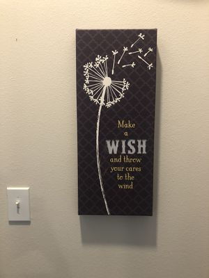 Make A Wish Sign for Sale in Richardson, TX