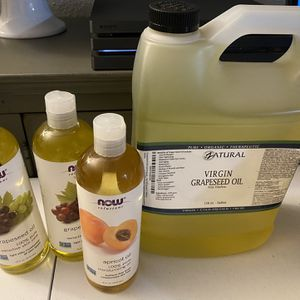 Grapeseed & Apricot Kernel Oil for Sale in Federal Way, WA