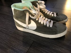 J crew Nike blazer mid high top shoes for Sale in Baltimore, MD