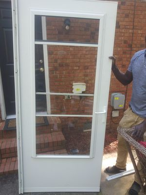 Storm glass door for Sale in Kannapolis, NC