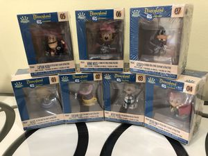 Disneyland Resort 65th Anniversary Funko Minis Figures Set, 1to7 brand new !!! for Sale in Morton Grove, IL