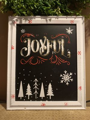 Joyful Christmas/Holiday picture handmade for Sale in Hampstead, MD