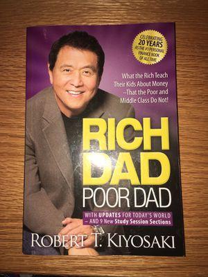 Rich dad poor dad book for Sale in Rock Island, IL