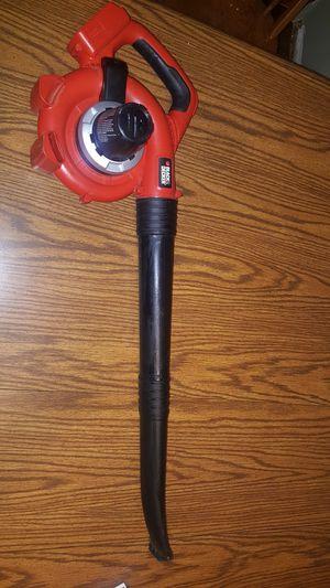 Black & Decker cordless leaf blower 20v lithium for Sale in Cleveland, OH