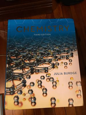Chemistry Third Edition, Julia Burdge for Sale in Coral Gables, FL