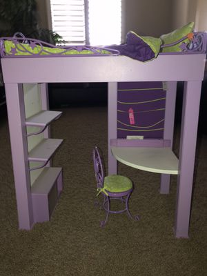 American Girl Doll Loft Bed Set for Sale in Anaheim, CA