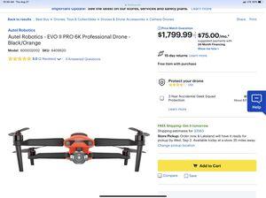Autel Robotics EVO II PRO 6K Professional Drone for Sale in Tampa, FL