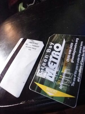 2 monthly bus passes for Sale in Green Bay, WI