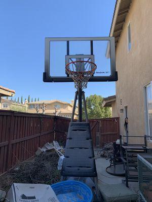 Reebok basketball hoop for Sale in Beaumont, CA