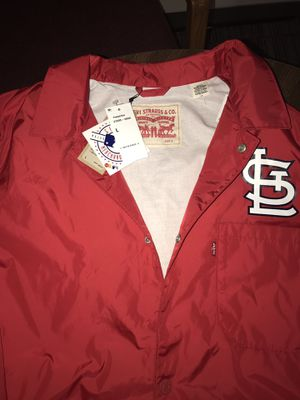 Levi's St. Louis Cardinals Windbreaker Jacket. Size:L for Sale in Baltimore, MD