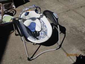 Compact Cordless baby swing for Sale in Portland, OR