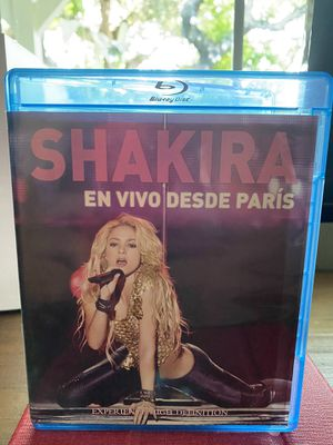 Shakira: Live in Paris Blu-ray for Sale in West Covina, CA